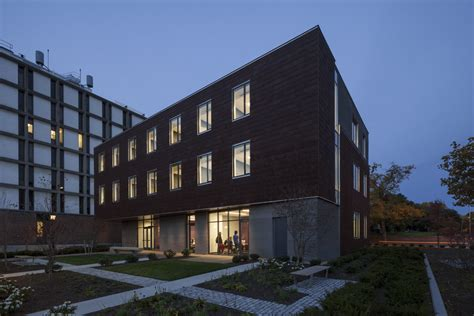Brown University Applied Math Building Architect
