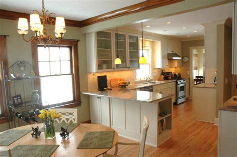 kitchen dining room design ideas an open kitchen dining room design in a traditional home