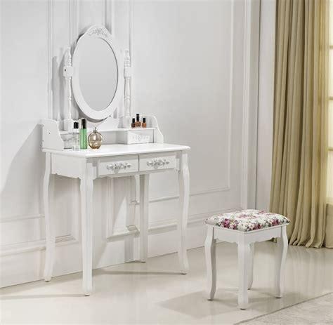 coiffeuse design pour chambre très coiffeuse table de maquillage avec 2 tiroirs