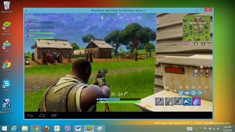 play fortnite mobile  pc part  youtube