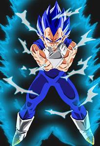 vegeta super saiyan god by leonelrest on DeviantArt