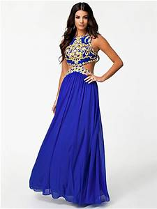 Laila Dress - Forever Unique - Blue - Party Dresses ...