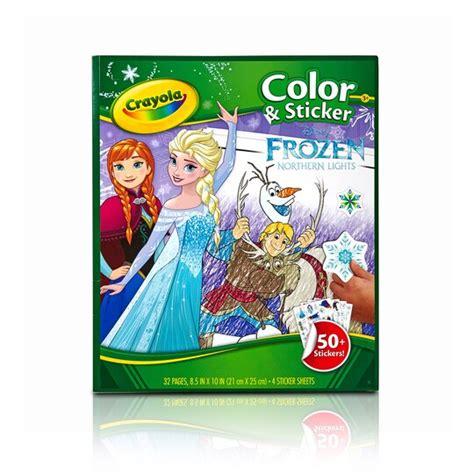 crayola disney frozen coloring sticker book