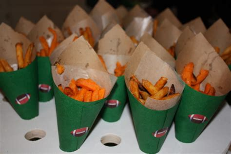 loving french fry cones baby shower
