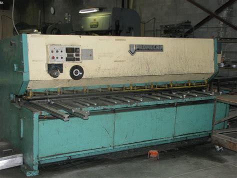 sheet metal equipment gap liquidators