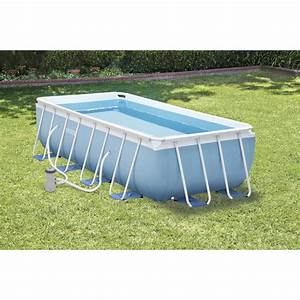 Piscine Intex Hors Sol : piscine hors sol autoportante tubulaire prism frame intex ~ Dailycaller-alerts.com Idées de Décoration
