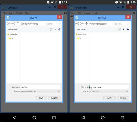 notepad for android get the windows notepad app on android