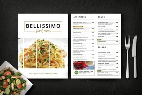 create food cafe restaurant bar coffee menu design