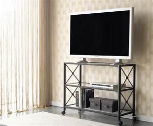 Meuble Tv Fer : meuble fer ~ Teatrodelosmanantiales.com Idées de Décoration