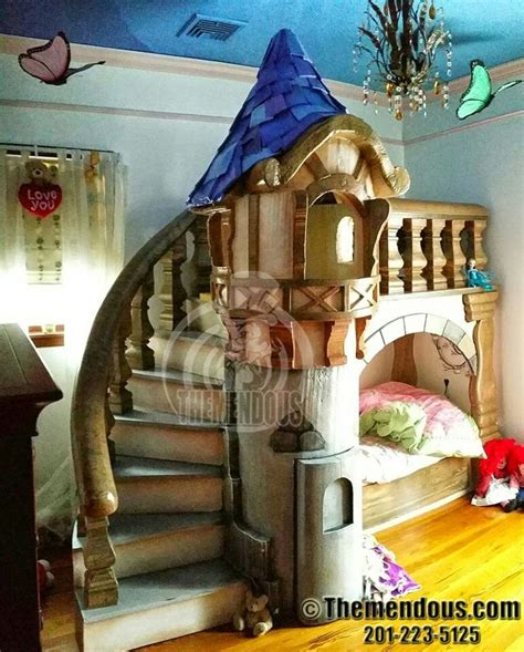 Rapunzel  Tangled Castle Bed From The Awesome Creative