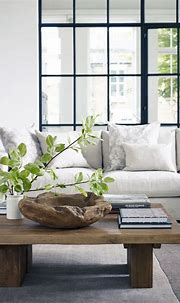 Clean, & organic. Natural living room. | home | Pinterest ...
