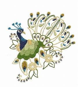 Dazzling, Peacock, 1, U22c6, Gina, Reddin, Designs