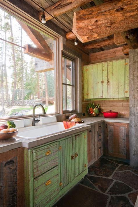 rustic cabin kitchen ideas 20 beautiful rustic kitchen designs interior god