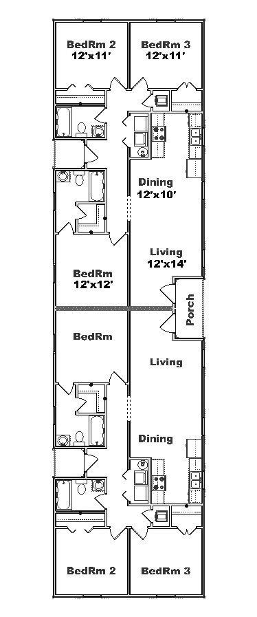 narrow duplex plans google search duplex plans narrow lot house plans narrow house plans