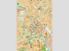 Large Uppsala Maps for Free Download and Print High