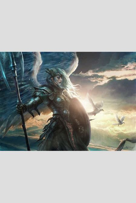 MtG Art: Aegis Angel from M12 - Core Set, M15 - Core Set Set by Aleksi Briclot - Art of Magic ...