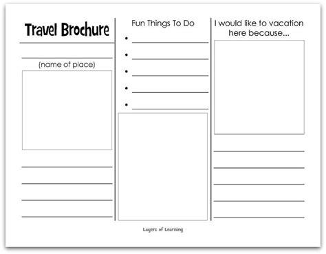 Blank Brochure Templates Cyberuse Blank Brochure Templates For Cyberuse