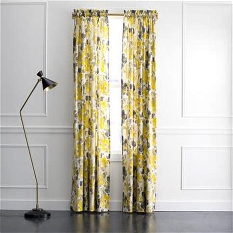 yellow and grey panel curtains yellow and grey zig zag 84 inch curtain panel pair