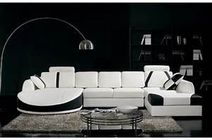 canap d angle cuir blanc design top canape d angle cuir With canapé d angle cuir blanc et noir