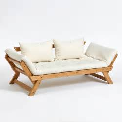 sofa holz funktionssofa