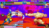 Marvel VS Capcom (MVC1) - TFG Review / Art Gallery