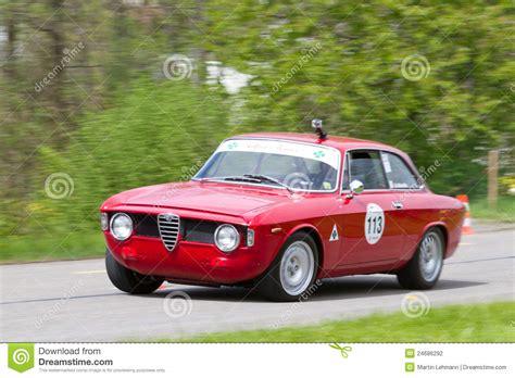 vintage alfa romeo race cars vintage race touring car alfa romeo editorial photography