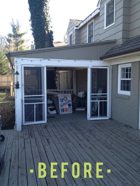 Porch Utility Room by Before And After Porch To Mudroom And Laundry Room Get