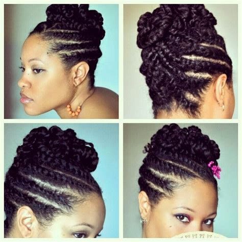 twist updo pinteres 20 hair styles that are professional enough for flat
