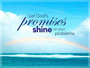 Happy Promise D... Christian Background Quotes