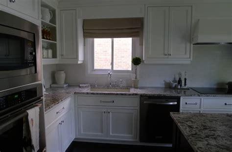 bianco antico granite transitional kitchen redroze s