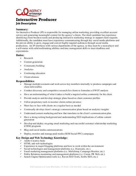 Sle Resume For Digital Marketing Manager by Digital Marketing Specialist Position At Downtown Dallas