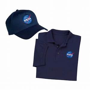 "Always wear the ""right stuff"" with NASA Logo Polo Shirt ..."