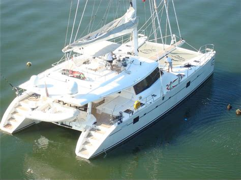 Catamaran Dinghy For Sale by Used Sail Catamaran For Sale 2006 Sunreef Yachts 62ft