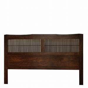 Tete De Lit Bambou : t te de lit teck bambou t tes de lits lits matahati cr ateur de mobilier durable ~ Teatrodelosmanantiales.com Idées de Décoration