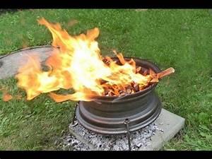 Ofen Aus Felgen : feuerstelle grill aus felge youtube ~ Watch28wear.com Haus und Dekorationen