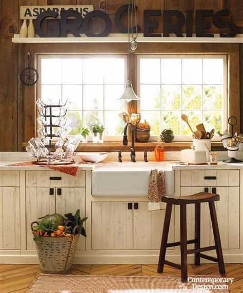country decorating ideas for kitchens small country kitchen ideas