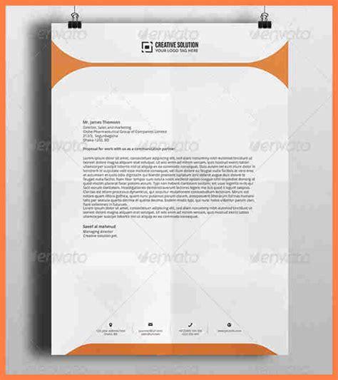 letterhead photoshop template company letterhead