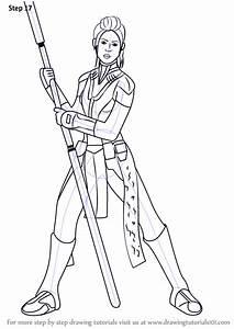 Learn How To Draw Bastila Shan From Star Wars  Star Wars