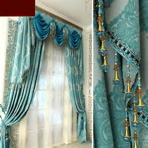 Gold Damask Shower Curtain by Luxury Living Room Curtains And Drapes In Baby Blue Color