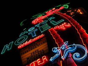 Portland s past glows on with vintage neon signs