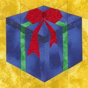 Gift Box Quilt Block Pattern Video
