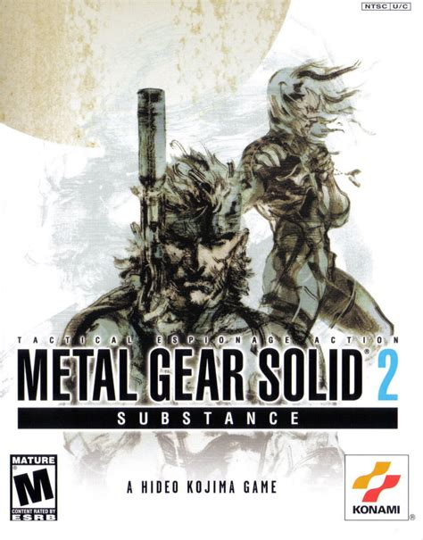 Metal Gear Solid 2 Substance Game Giant Bomb