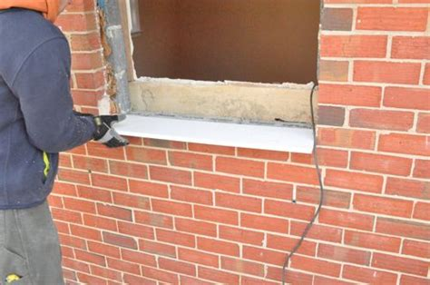 How Do You Replace A Window Sill by How To Install A Window One Project Closer