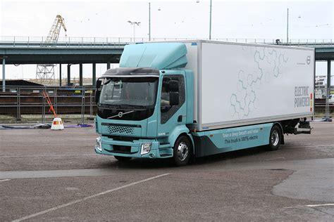 volvo pushes   electric trucks transport topics