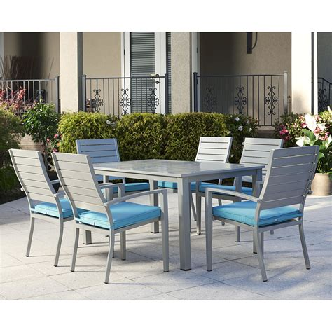 wayfair outdoor patio dining sets outdoor 7 dining set with cushion wayfair supply