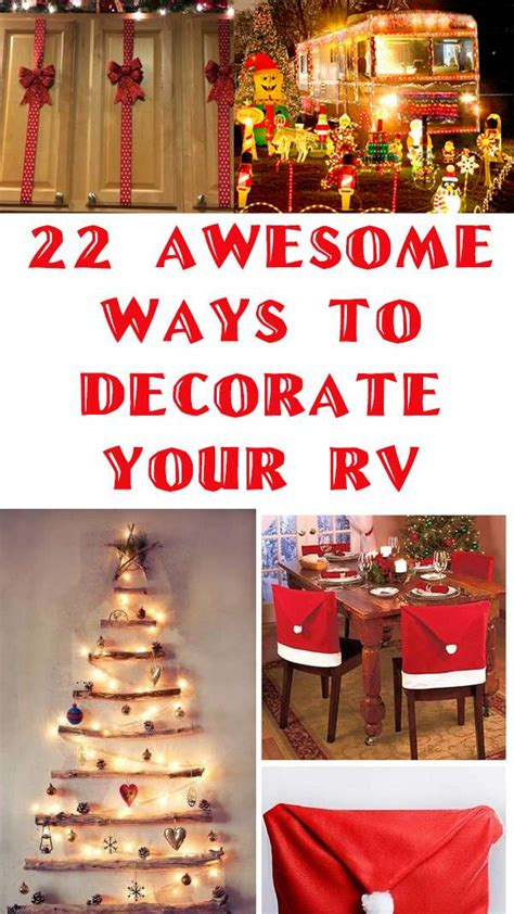 awesome holiday decoration ideas   rv