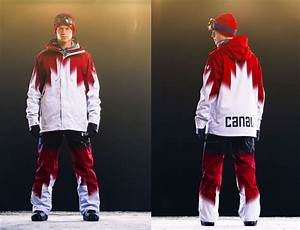 Under Armour unveils Canadian Snowboard Team uniforms for ...