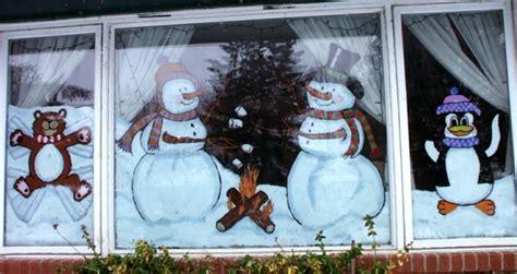Fensterdeko Weihnachten Schneespray by Fensterdeko F 252 R Weihnachten Vermittelt Eine Tolle Feststimmung