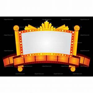 Theater billboard cliparts free download clip art free for Theatre sign clipart