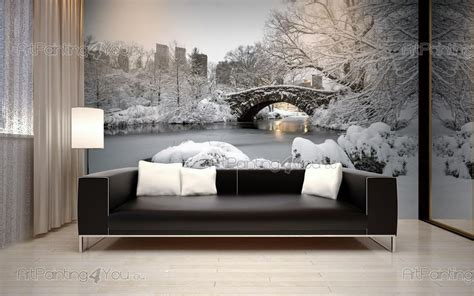 wall murals cities canvas prints posters central park new york city 2020en